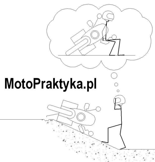 podnoszenie motocykla